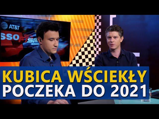 Robert Kubica załamany. Do 2021 roku może czekać na prawdziwą szansę