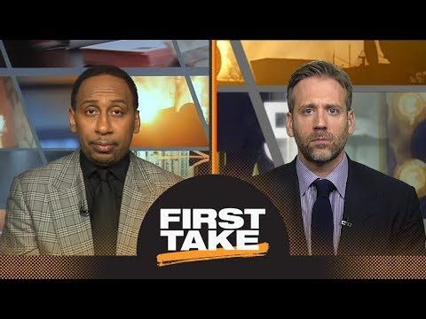 Stephen A. and Max react to Celtics defeating 76ers in Game 3 | First Take | ESPN