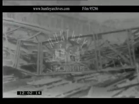 World War II Damage In Berlin 1940s