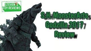 S.H. MonsterArts Godzilla 2017 Review GODZILLA怪獣惑星