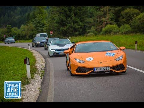 Supercars Alpine Challenge (San bernardino pass, Furka pass, Davos pass, Stelvio pass)