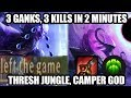 S8 Jungle Thresh - GODLY GANKS - League of Legends