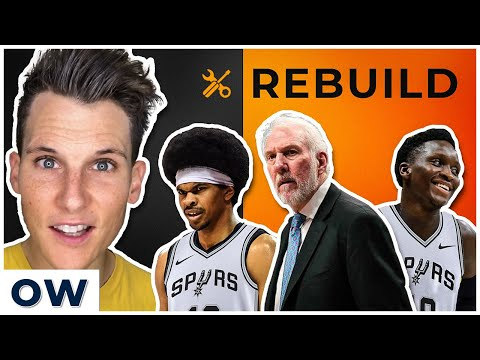 SPURS Rebuild With TRADES And FREE AGENTS [2020 NBA OFFSEASON]