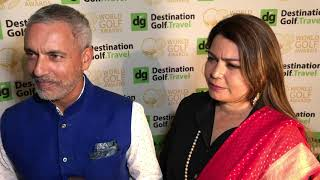 Golf Amour - Rishi Narain, Managing Director & Charu Narain, CEO