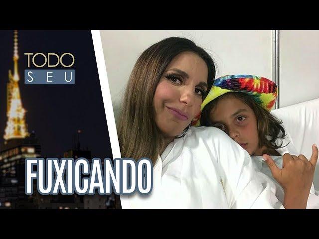 Ivete Sangalo se apresenta no Rock in Rio Lisboa| Fuxicando - Todo Seu (05/07/18)