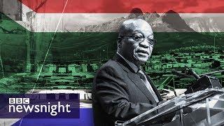 South Africa's Gupta scandal - BBC Newsnight