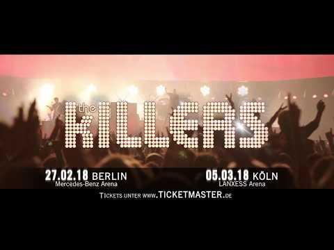The Killers Tourtrailer 2018 | Live Nation GSA