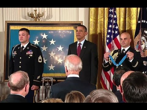 Medal of Honor for Sergeant First Class Leroy Arthur Petry