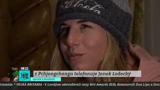TELERÁNO - Janek Ledecký o fantastickom úspechu svojej dcéry