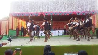 Khukuri Dance खूकुरी नृत्य The Gorkha Cultural Troop Rowta Anchalic AAGSU