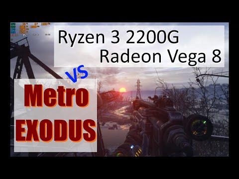 Можно ли на Ryzen 3 2200G с графикой Vega 8 нормально поиграть в Metro Exodus?