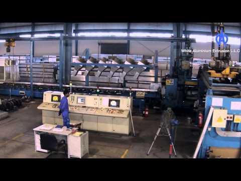 white aluminium corporate video