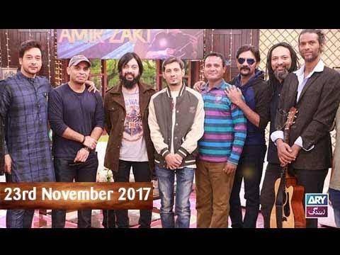Salam Zindagi With Faysal Qureshi - Tribute to Amir Zaki - 23rd November 2017
