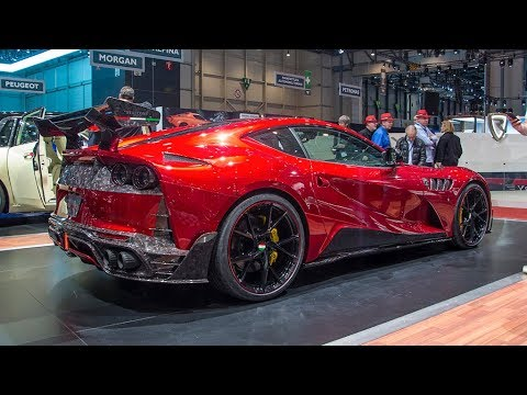 Ferrari 812 Superfast Mansory Stallone First Look Inside