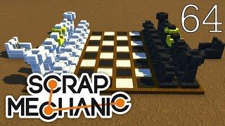 Scrap Mechanic [#64] Mapa Szachy by DeXu&Mimize (Mapa Widzów)