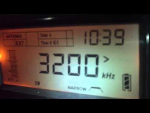 3200 khz Trans World Radio Africa , Manzini , Swaziland