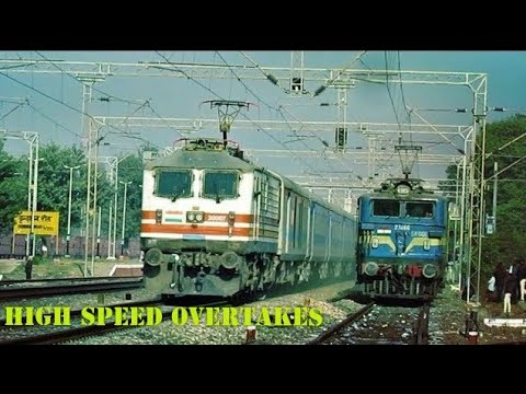 [SPECIAL TREATMENT] || Back To Back 6 Overtakes : BHOPAL SHATABDI & GATIMAAN EXPRESS OVERKILL !!!