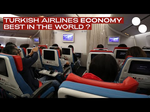 TURKISH AIRLINES BOEING 777-300ER NEW ECONOMY ISTANBUL - TOKYO TK52