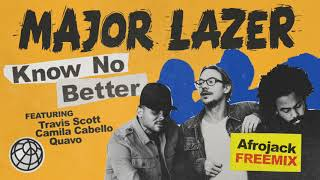 Baixar Major Lazer - Know No Better (feat. Travis Scott, Camila Cabello & Quavo) (Afrojack Freemix)