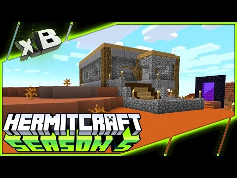 THE MESA MINING OUTPOST! :: HermitCraft Season 5 :: Ep 14
