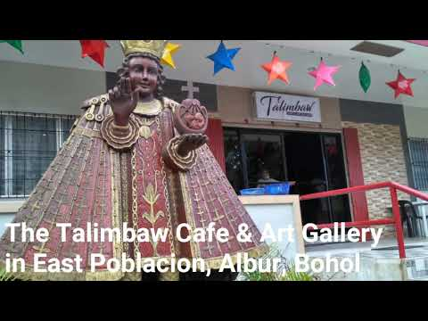 Welcome to Talimbaw Cafe & Art Gallery in Albur, Bohol