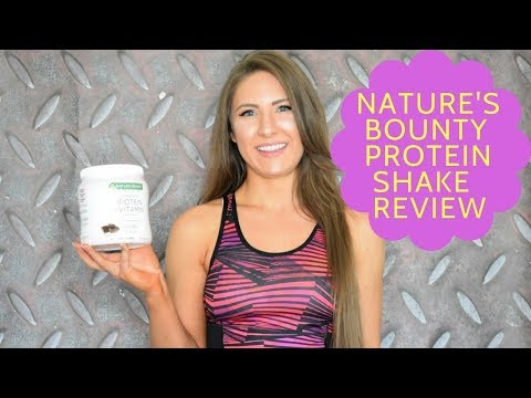 Nature's Bounty Optimal Solutions Complete Protein & Vitamin Shake Review