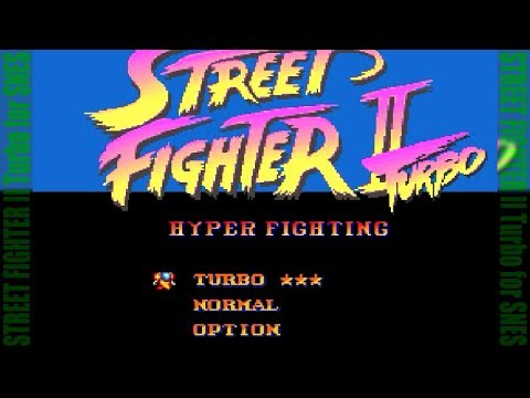 [FHD] STREET FIGHTER II Turbo for SFC/SNES [CAPCOM]