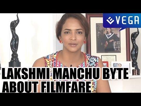 Lakshmi Manchu Byte about Her 2nd  Filmfare Award ||