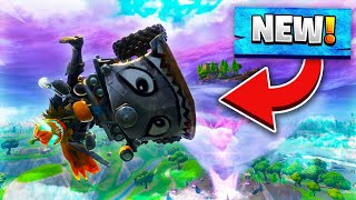 """TRYING TO WIN ONLY USING THE NEW """"QUAD CRASHER"""" (FORTNITE BATTLE ROYALE)"""
