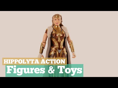 Hippolyta Action Figures & Toys // The Mother Of Wonder Woman