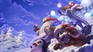 Snow Day Bard - Skin Spotlight - League of Legends [60 FPS]