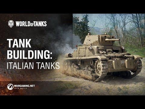 Tank Building: Italian Tanks