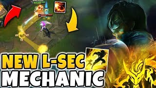 "THE NEW ""L-SEC"" COMBO IS THE COOLEST LEE SIN MECHANIC YET! (INSANELY DIFFICULT) - League of Legends"