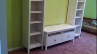 Ikea Hemnes Tv Stand Assembly Service Video In Chevy Chase Md By Furniture Assembly Experts Llc