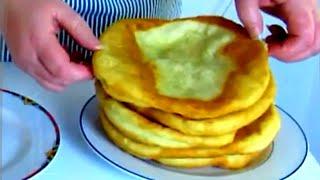 Ungarische LANGOSCH Сытные картофельные лепёшки. Венгерский ЛАНГОШ !!!