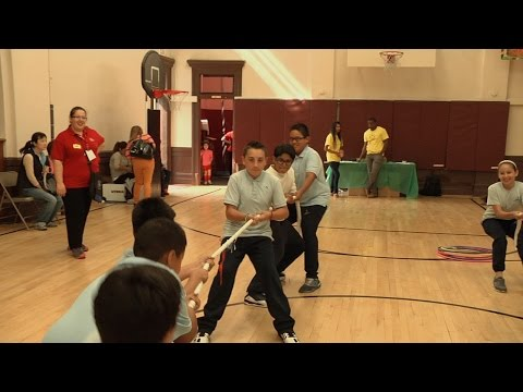Students Stay Fit at Most Holy Redeemer Catholic Academy