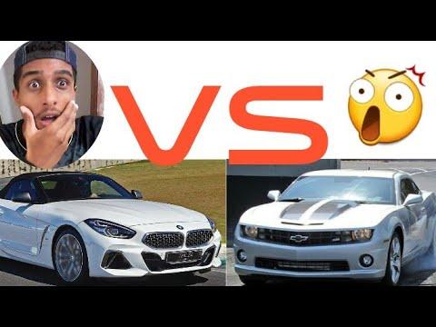 BMW Z4 VS CAMARO QUEM GANHA???COMPARATIVOS![ HUGO1015 ...
