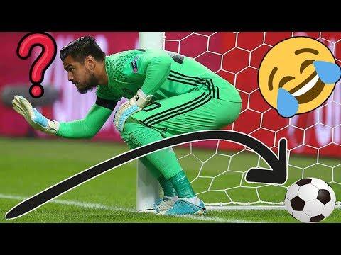 LOS FAILS MÁS ESTÚPIDOS Y GRACIOSOS DE LOS PORTEROS | Funny Worst Goalkeeper Mistakes 2019