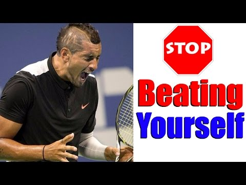 How To Stop Defeating Yourself In Matches - Tennis Tactics & Strategy