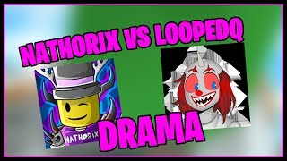 NATHORIX VS LOOPEDQ DRAMA (Exposing Roblox)