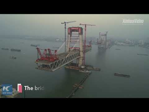 A leap forward! China building another mega bridge over Yang