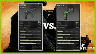 CS: GO - CZ75-Auto vs P250 - Pistol Comparison