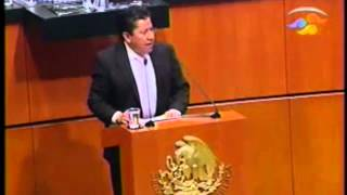 Participación del Senador David Monreal sobre el dicamen para combatir el acoso laboral