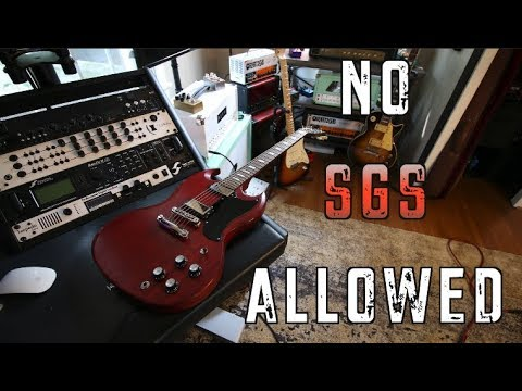 10 Riffs You Should Never Play On An SG .... Played On An SG