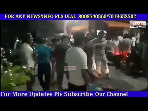 OWNER AND CUSTOMER FIGHT AT MALAKPET TIFFIN CENTRE @ NIGHT TIME. ||HYDERABAD|| 20-06-2018