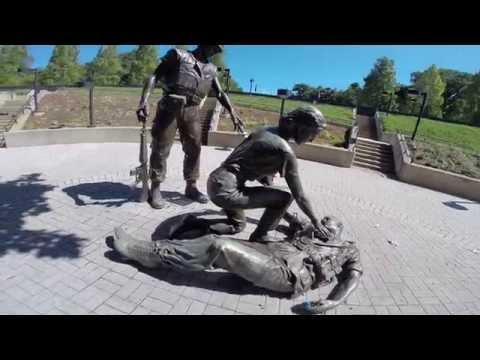 New Jersey Vietnam Veterans Memorial Holmdel Tour of Grounds