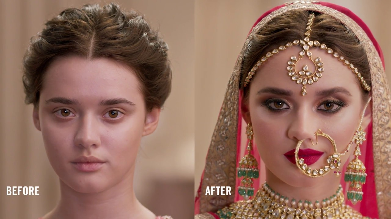 how to: the indian bride i mac cosmetics