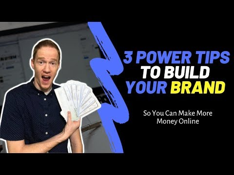 3 Tips to Make Money Online with Your Personal Brand | Affiliate Marketing for Beginners