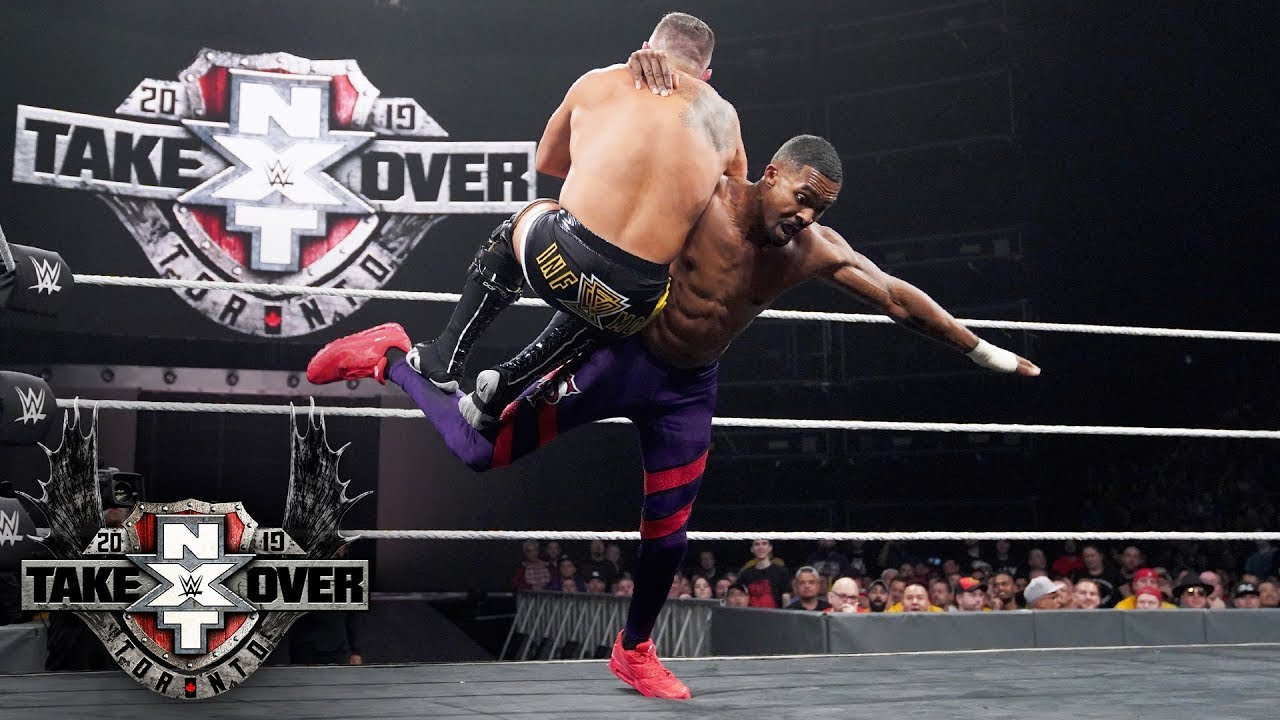Montez Ford pays tribute to The Rock in NXT Tag Title battle: TakeOver:  Toronto (WWE Network)