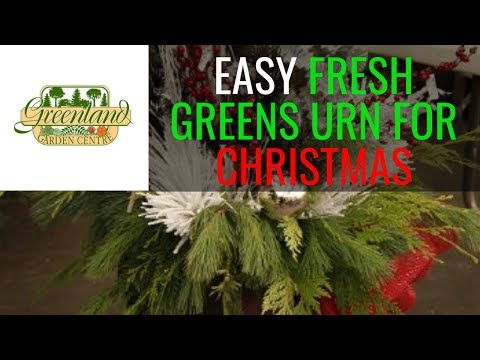 Creating a Fresh Greens Urn